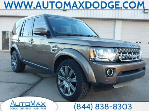 Pre-Owned 2014 Land Rover LR4 HSE Luxury